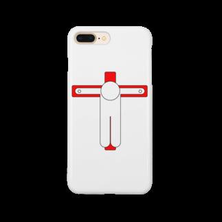 しる猫☆ミ雑貨店の磔(はりつけ) Smartphone cases