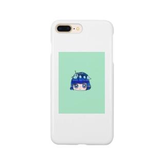深海blueガール Smartphone cases