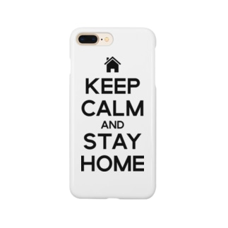 KEEP CALM AND STAY HOME Smartphone cases