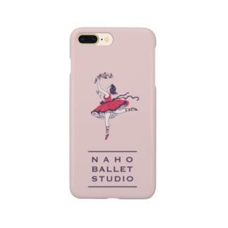 夢見るバレリーナ🥀(ピンク) Smartphone cases