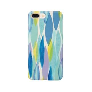 水色のキラメキと涙 Smartphone cases