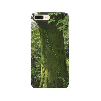 つる植物 スマホケース Smartphone cases