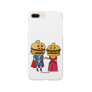 ハンバーガーカップル Smartphone cases