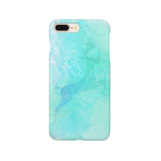 氷晶の鹿 Smartphone cases