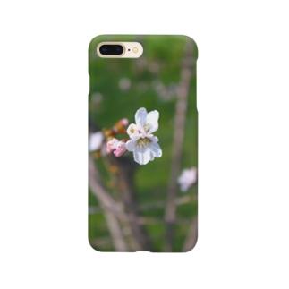 春待つ一輪 Smartphone cases