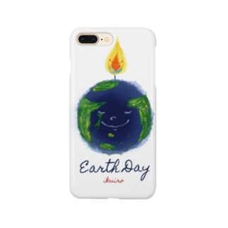Earth Day 地球の日 Smartphone cases