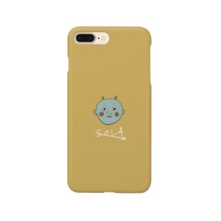 エイリアンくん iPhoneケース Smartphone cases