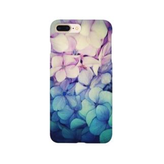 紫陽花・2 Smartphone cases