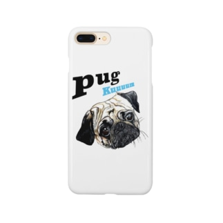 パグの泣き声 Smartphone cases