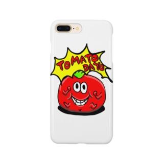 トマトだよ!! Smartphone cases