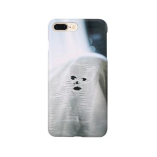 洗濯機から空を仰ぐ念斗くん Smartphone cases