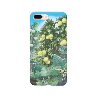 ひみつの花園コラボスマホケース Smartphone cases