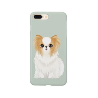 パピヨンくん Smartphone cases