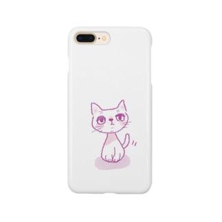 クレヨンねこさん Smartphone cases