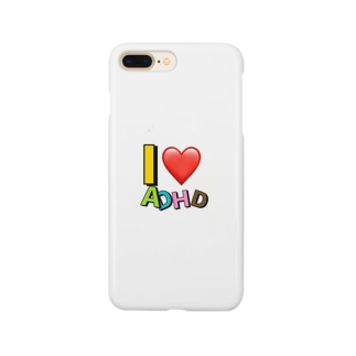 I❤️ADHD Smartphone cases