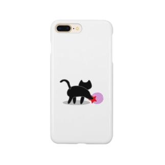 黒猫のいる部屋 Smartphone Case