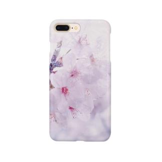桜色に染めてみる Smartphone cases