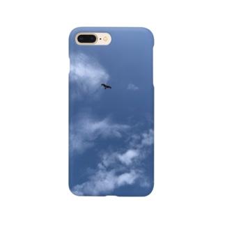 優雅に飛ぶトンビ Smartphone cases