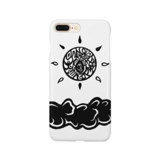 曇り=晴れ Smartphone cases