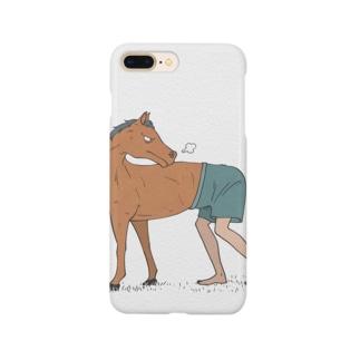 馬と人 Smartphone cases