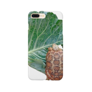 パンケーキリクガメ Smartphone cases