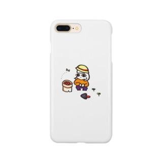 [家庭菜園・ぼち子さん]ぼっちのためのスマホケース Smartphone cases