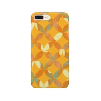 もよう(油絵風) Smartphone cases