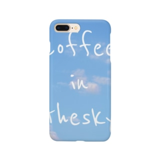 coffee in the sky Smartphone cases
