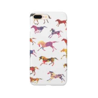 ちっこい馬 Smartphone cases
