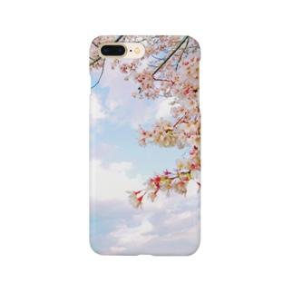 空と桜 Smartphone Case