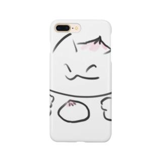 饅頭猫 Smartphone cases