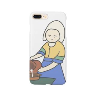 ぎゅうにゅうをつぐおんな Smartphone cases