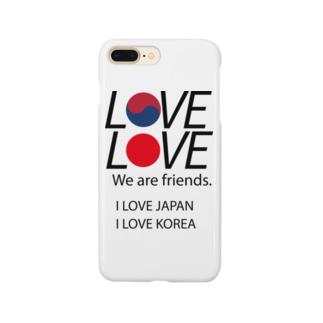 日韓友好 Smartphone cases