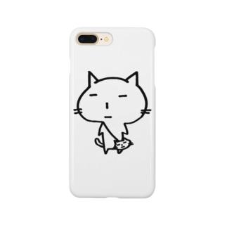 ポーチときち Smartphone cases