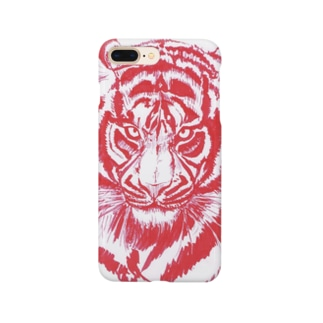 Red Tiger  Smartphone cases
