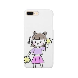 フレフレおこめちゃん Smartphone cases