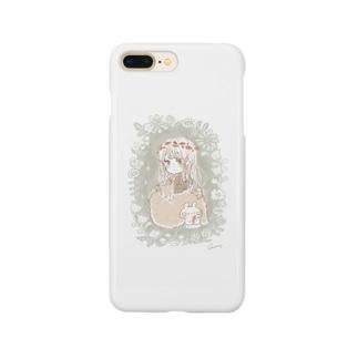 葉っぱのかんむり Smartphone Case