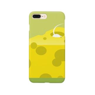 ネズミinチーズ Smartphone cases