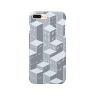アクソメ都市 Smartphone cases