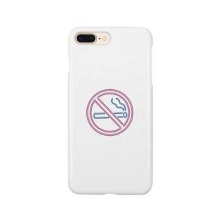 neon non-smoking Smartphone cases