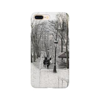 モンマルトルの階段 Smartphone cases