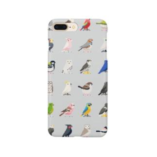 ドット鳥のグッズ Smartphone cases
