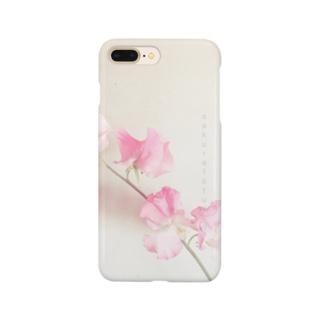 スイートピー  スマホケース Smartphone cases