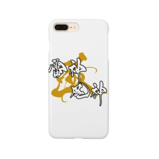 風神雷神改 ゴールド Smartphone cases
