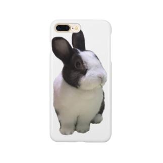 保護うさぎダイちゃんF Smartphone cases