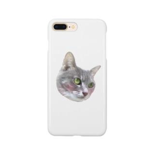 照れるニコちゃん Smartphone cases
