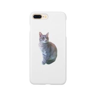 猫を被る Smartphone cases