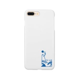 aniまる Fur sea / sp-case Smartphone cases