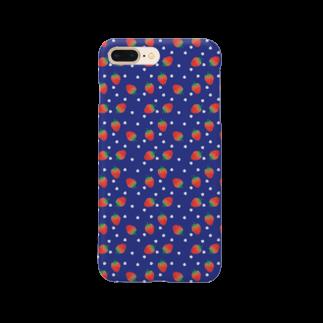 ynkseのいっぱいいちご Smartphone cases