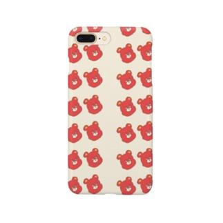 クマ1号。 Smartphone cases